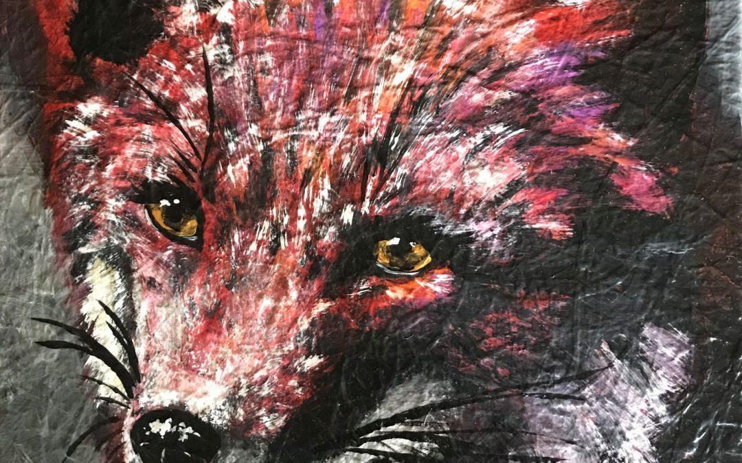 Crimson Fox – Art with a Cause
