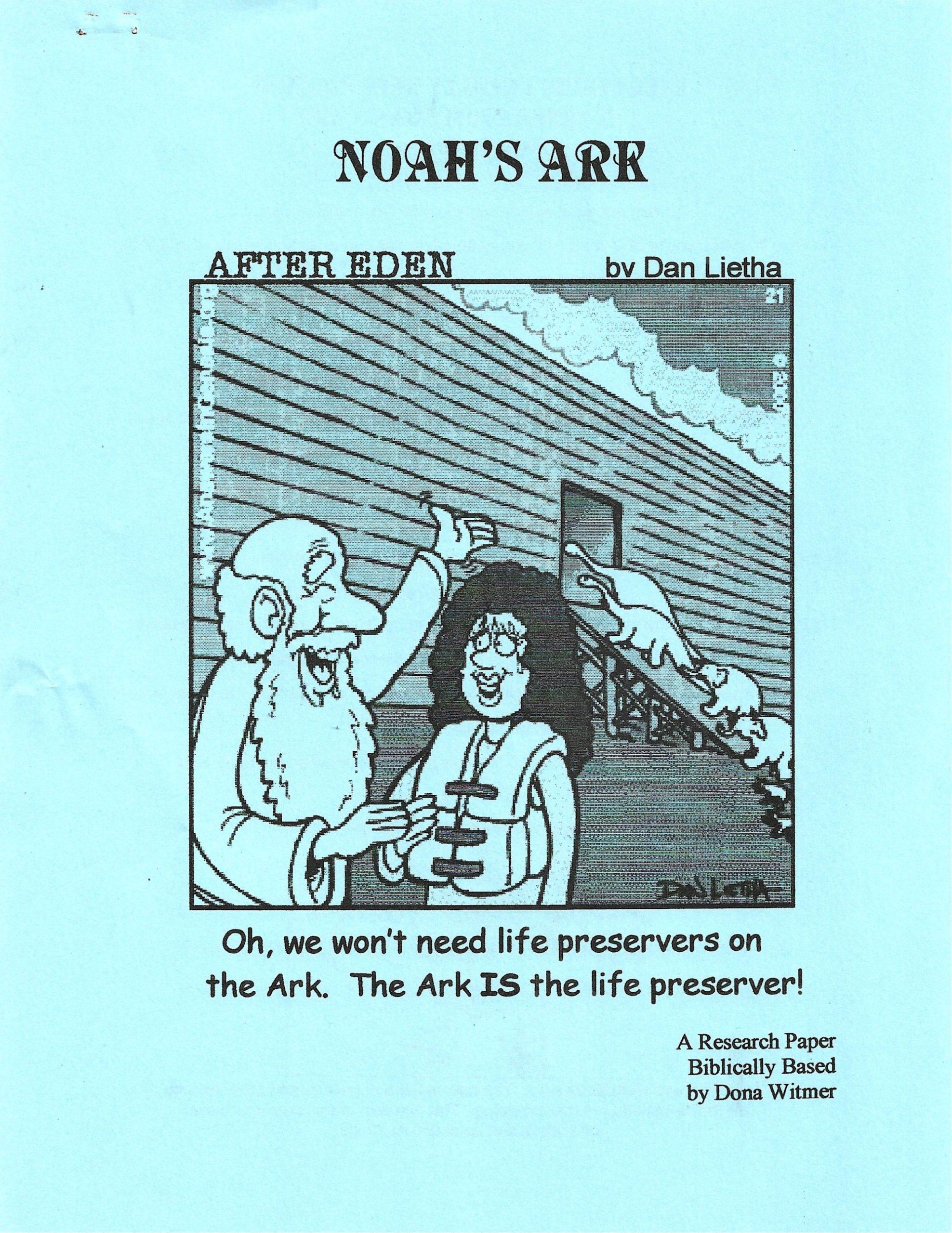 Noah's Ark Research Paper